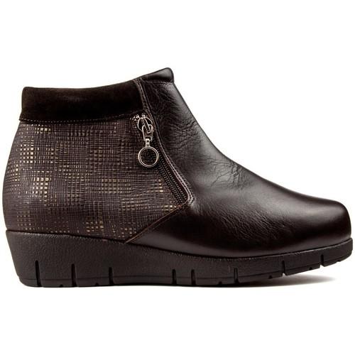 Shoes Women Ankle boots Dtorres ES  THAIS BROWN