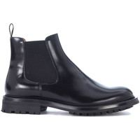 Shoes Women Shoe boots Church's Genie black leather ankle boots Black