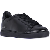 Shoes Men Low top trainers Armani jeans SNEAKER Nero