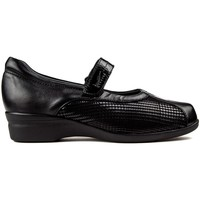 Shoes Women Flat shoes Dtorres BAILARINAS  LIEJA VELCRO black