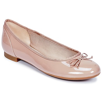 Shoes Women Flat shoes Clarks COUTURE BLOOM Nude / Patent