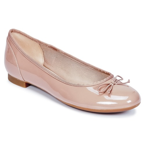 Shoes Women Flat shoes Clarks COUTURE BLOOM Nude
