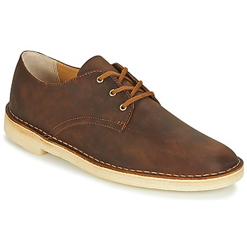 Shoes Men Derby Shoes Clarks DESERT CROSBY Beeswax