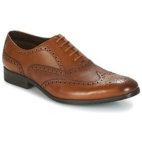 Shoes Men Brogues Clarks GILMORE LIMIT Tan / Leather
