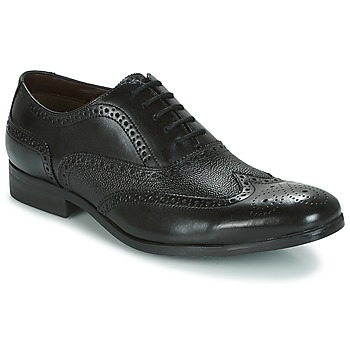 Shoes Men Brogues Clarks GILMORE LIMIT  black / Leather
