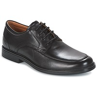 Shoes Men Derby Shoes Clarks UN ALDRIC PARK  black / Leather