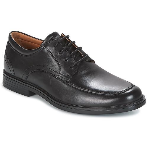 Shoes Men Derby Shoes Clarks UN ALDRIC PARK Black