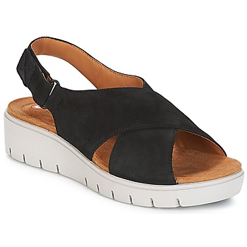 614399e1a3a3 Shoes Women Sandals Clarks UN KARELY HAIL Black