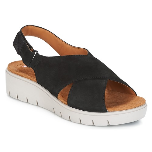 6be9deaae13 Clarks UN KARELY HAIL Black - Free delivery with Spartoo UK ...