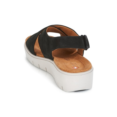 Clarks Un Karely Hail Black - Free Delivery Shoes Sandals Women 4409 Sale