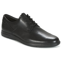 Shoes Men Derby Shoes Clarks VENNOR WALK  black / Leather