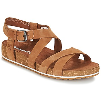 Shoes Women Sandals Timberland MALIBU WAVES ANKLE SANDAL Rust