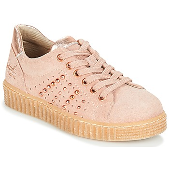 Shoes Girl Low top trainers Bullboxer AIB006 Pink