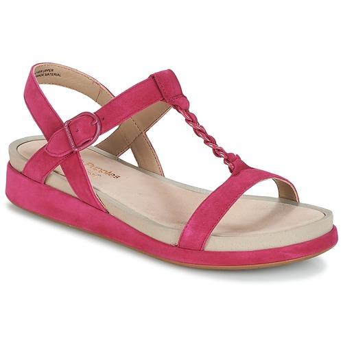 Shoes Women Sandals Hush puppies CHAIN T Raspberry