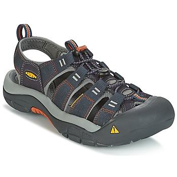 Shoes Men Outdoor sandals Keen NEWPORT H2 Grey