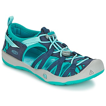 Shoes Girl Outdoor sandals Keen MOXIE SANDAL Blue
