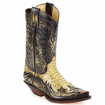Shoes Men High boots Sendra boots JOHNNY Brown / Beige