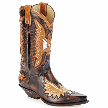 Shoes Men High boots Sendra boots CHELY Brown