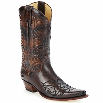 Shoes Men High boots Sendra boots BILL Brown