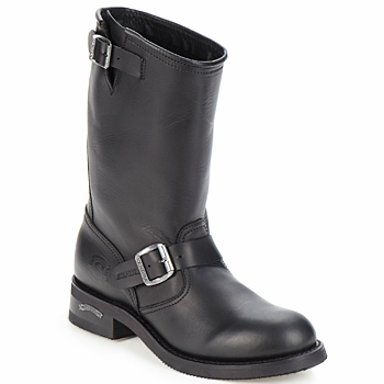 Mens Vintage Shoes, Boots | Retro Shoes & Boots Sendra boots  OWEN  mens Mid Boots in Black £249.00 AT vintagedancer.com