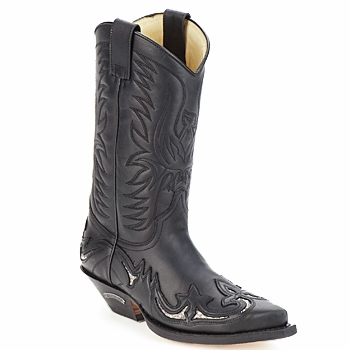 Shoes High boots Sendra boots CLIFF Black