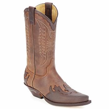 Shoes High boots Sendra boots DAVIS Brown