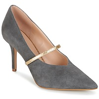 Shoes Women Heels KG by Kurt Geiger V-CUT-MID-COURT-WITH-STRAP-GREY Grey
