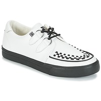 Shoes Low top trainers TUK CREEPERS SNEAKERS White / Black