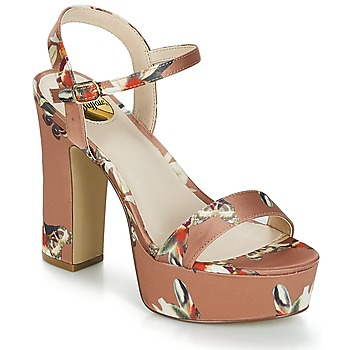 Shoes Women Sandals Buffalo LATEOF Camel