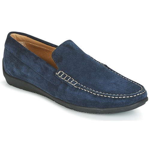 Shoes Men Loafers Lumberjack LEMAN Blue