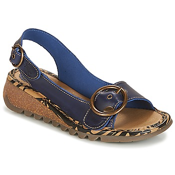 Shoes Women Sandals Fly London TRAMFLY Navy