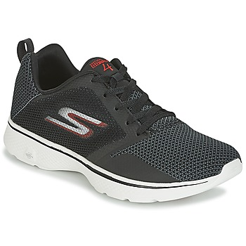 Shoes Men Low top trainers Skechers GO WALK 4 Black