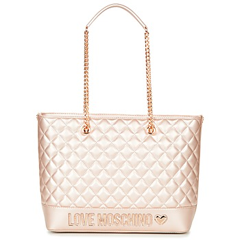 Bags Women Shopping Bags / Baskets Love Moschino JC4003PP15 Pink / Gold