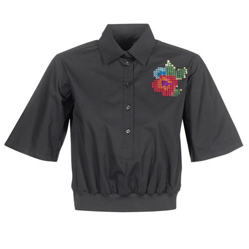 Clothing Women Shirts Love Moschino WCC5401 Black