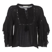 Clothing Women Tops / Blouses See U Soon 8112057 Black