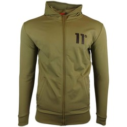 Clothing Men Track tops 11 Degrees Poly Zipped Jacket green