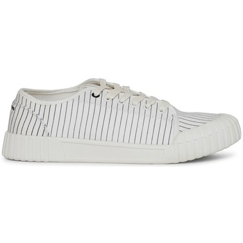 Shoes Men Low top trainers Good News Hurler Low Baseball Stripe Plimsolls White White