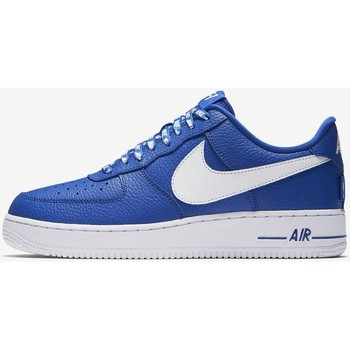 Shoes Men Low top trainers Nike Air Force 1 Low 07 LV8 Statement Game 823511 405 Blue-White