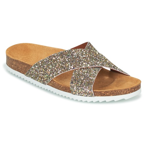 Shoes Women Mules Le Temps des Cerises FALONE Glitter