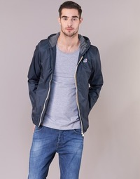 Clothing Men Jackets K-Way JACQUES JERSEY Marine