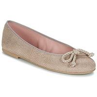 Shoes Women Flat shoes Pretty Ballerinas  Nude