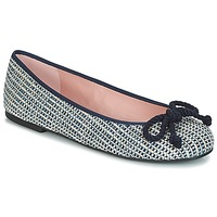 Shoes Women Flat shoes Pretty Ballerinas  Navy
