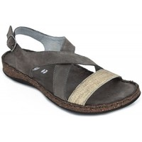 Shoes Women Sandals Walk & Fly 3861-21450 brown