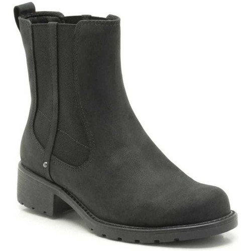 Shoes Women Mid boots Clarks Orinoco Club Wide Womens Casual Boots black