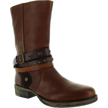 Shoes Women High boots Lotus Huambo Tan