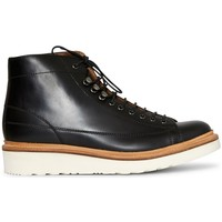 Shoes Men Mid boots Grenson Andy Monkey Boot Black Black