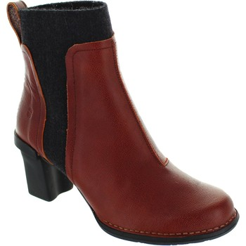 Shoes Women Ankle boots El Naturalista N5142 Black/Red