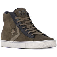 Shoes Hi top trainers Converse PRO LEATHER VULC Grigio