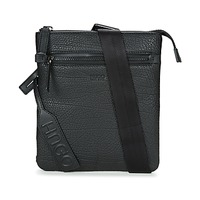 Bags Men Pouches / Clutches HUGO-Hugo Boss VITORIAN S ZIP Black