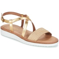 Shoes Women Sandals Casual Attitude IPOURK Gold